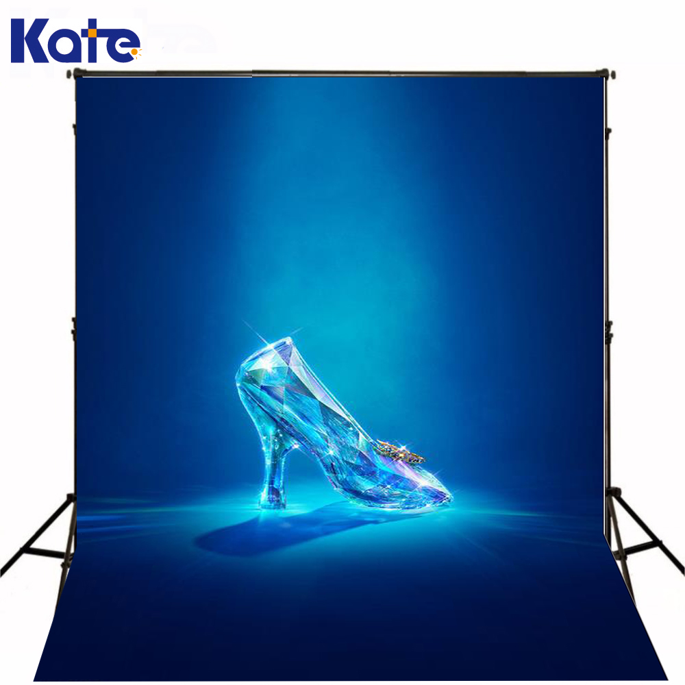 6.5Ft*10Ft Gorgeous Noble Cinderella Crystal Shoes Photography Backdrops Photography Background Fotografia Background allenjoy photography background noble