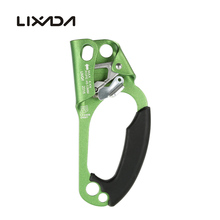 лучшая цена Lixada Right Hand Ascender Rope Size 8mm -13mm For Outdoor Rock Climbing / Rescue / Rope Access / Alpinism Arborist Caving CE