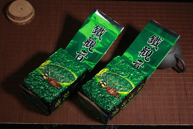 Green Tea 250g Organic Strong Fragrant AnXi Tie Guan Yin /TiKuanYin Chinese Oolong Green Tea Health tieguanyin