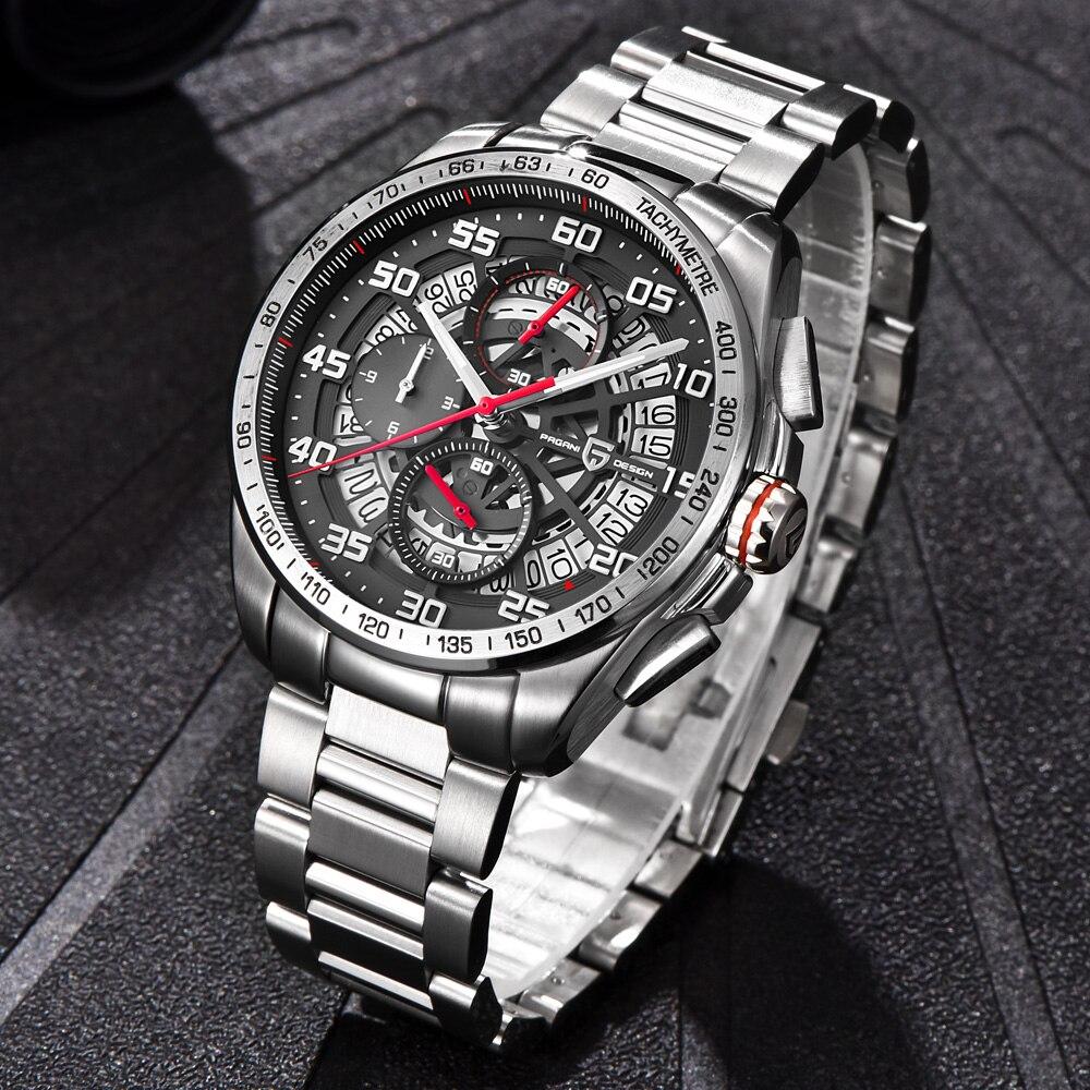 Pagani design 탑 럭셔리 브랜드 남자 시계 스포츠 방수 석영 시계 남자 손목 시계 남성 시계 relogios masculino saat-에서수정 시계부터 시계 의  그룹 3