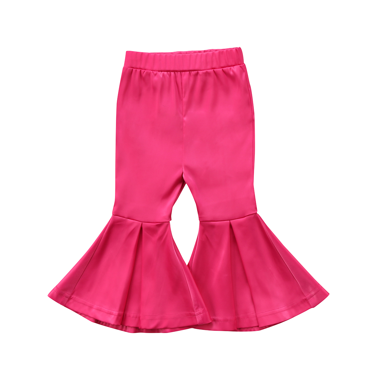 Toddler Kids Girl Baby Pant High Waist Cotton Cute Stretchy Flare Pants Bell Bottom Trousers Girls 2-7Y free shipping new women boot cut jeans girls fashion bell bottom trousers mid waist flares pants size 25 32