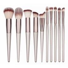 New Womens Fashion Brushes 1PC Wooden Foundation Cosmetic Eyebrow Eyeshadow Brush Makeup Sets Tools Pincel Maquiagem