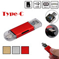 Mecall USB-C Тип C/USB 3.0/Micro USB/OTG TF Card Reader для Телефона Macbook 12 дюймов Лучшее Качество оптовая Mo18