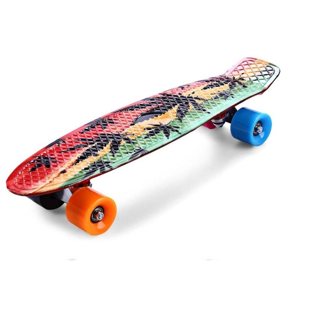 Planche à roulettes à quatre roues en bois planche à roulettes Sports extrêmes planche à roulettes complète populaire planche à roulettes simple