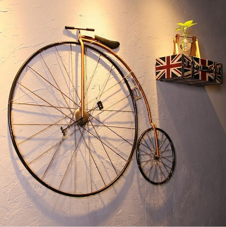 Victory Vintage Bicycle Wall Art / Penny Farthing High Wheel Bike Metal Decor / Iron Made 102cm(40
