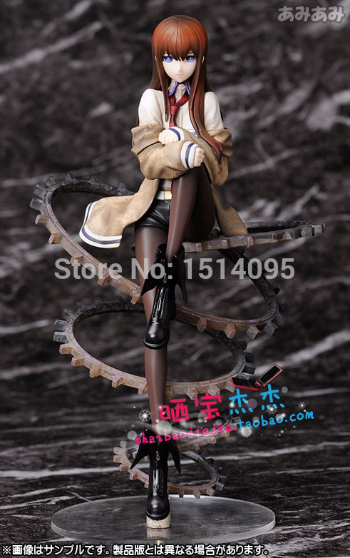 Sexy Girl Steins Gate Makise Kurisu 9 PVC Action Figure Collection Model Toy SG050 brand new 1 6 scale sexy girl big breast bikini blonde 12 pvc sexy women action figure model toy for collection gift