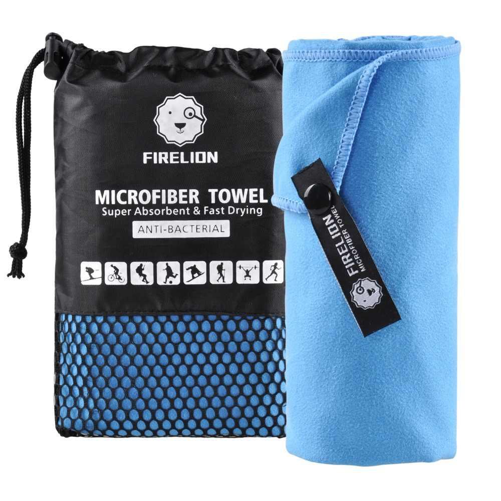 MICROFIBRE WRAP TOWEL Sports Travel Gym Beach Camping Sauna Quick Dry Hair Cloth