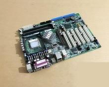 100% оригинальная Встроенная Материнская плата ПК, модель 865G ATX, Промышленная материнская плата 6 * PCI 2 * COM, 1 * LAN с оперативной памятью PGA478, процессор
