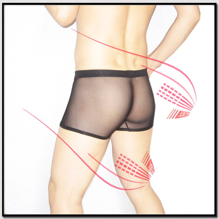 Cockcon General Panties Two Pieces Panties Male Seamless Transparent Panties 1142