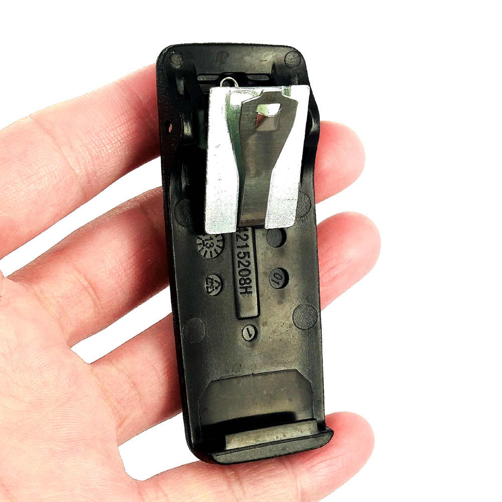 เข็มขัดคลิปสำหรับ Motorola XPR6550 XPR6350 XIR P8268 P8200 DGP4150 DGP6150 PMLN4651A Walkie Talkie วิทยุแบตเตอรี่คลิป