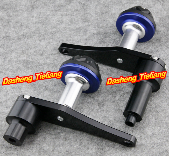 For Kawasaki Ninja ZX10R 2006 2007 Motorcycle Frame Sliders Crash Pads Protector 06 07, BLUE Color, Spare Parts Supplies