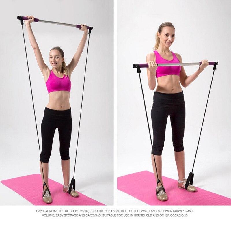 High Quality Portable Detachable Yoga Pilates Rods