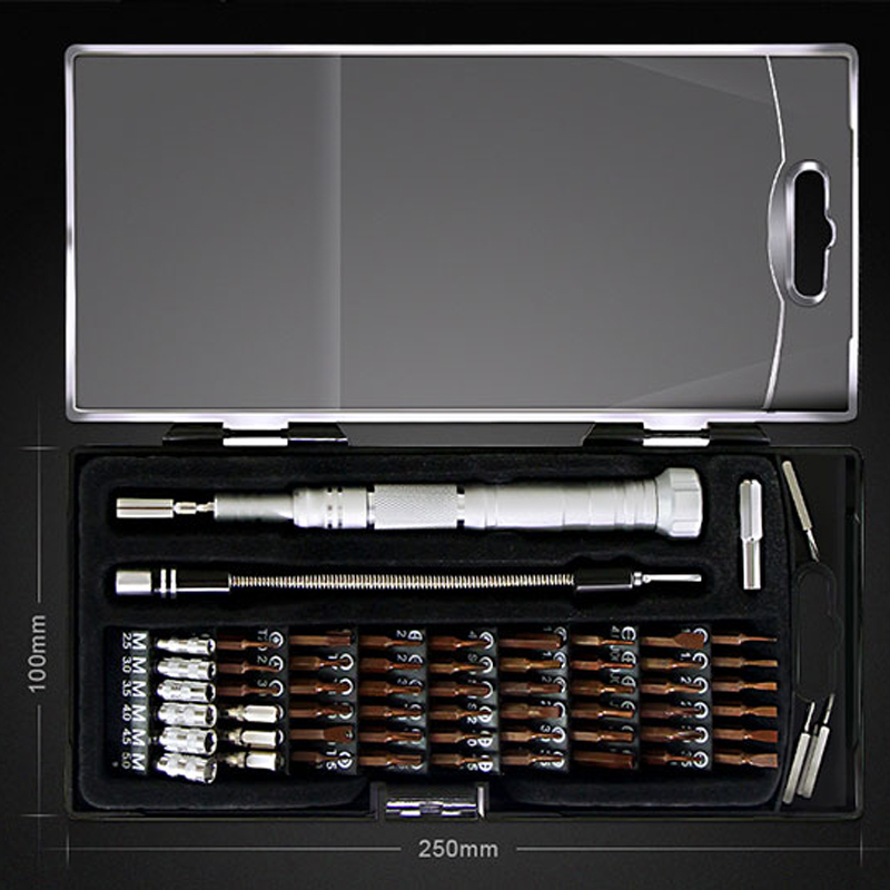 Tools : JAKEMY Precision Screwdriver Set For iPhone X 8 8P 7 6 5 Phone Repair Tools Kit Tornavida Tournevis Magnetic Screw Driver Bit