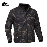 Military Camouflage Mens Tactical Jacket Male Multifunctional Special Intelligence Combat Jackets Men Army Clothing 3XL BYPLY19