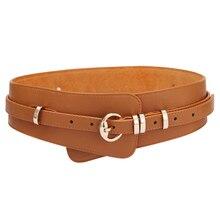 Women Genuine Leather Cow Skin Belts