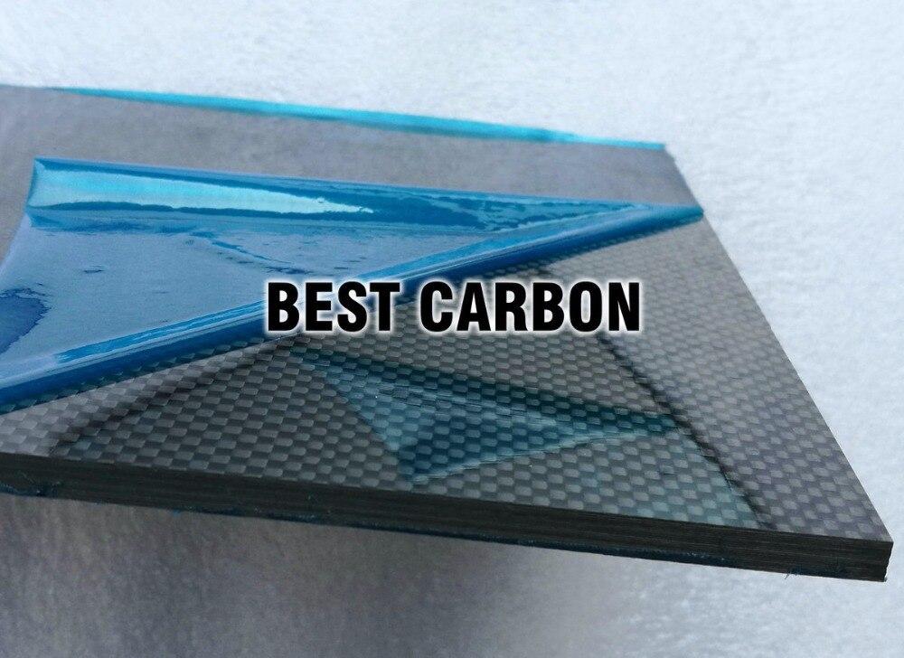 4.0mm x 200mm x 300mm 100% Fiber De Carbone Plaque, plaque rigide, voiture conseil, rc avion plaque