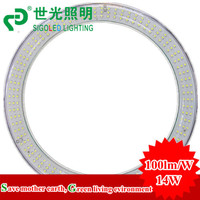 FREE SHIPPING-14W  SMD3528 G10Q LED Circular Tube/LED circle light/LED Ring lamp/LED Ring light