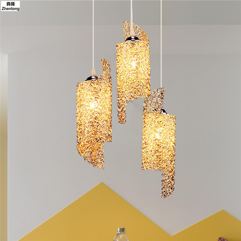 Chandelier Lighting Lustre Chandelier In Bedroom European Style Lamparas De Techo Colgante Moderna E27 Bulb 110V