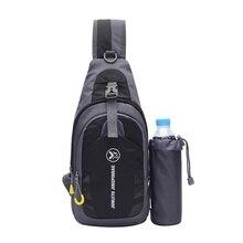 Сумки через плечо мешок слинга Грудь; плечи; Длина рукава; рюкзака бутылки для использования на открытом воздухе Пеший Туризм тренировки Спортивная сумка Новые