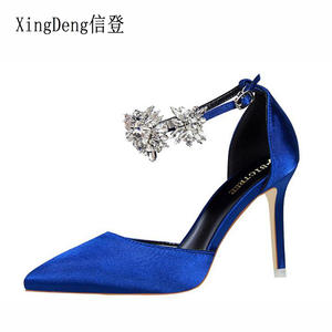 923888e522cc XingDeng Wedding Party High Heels Pumps Shoes Sexy