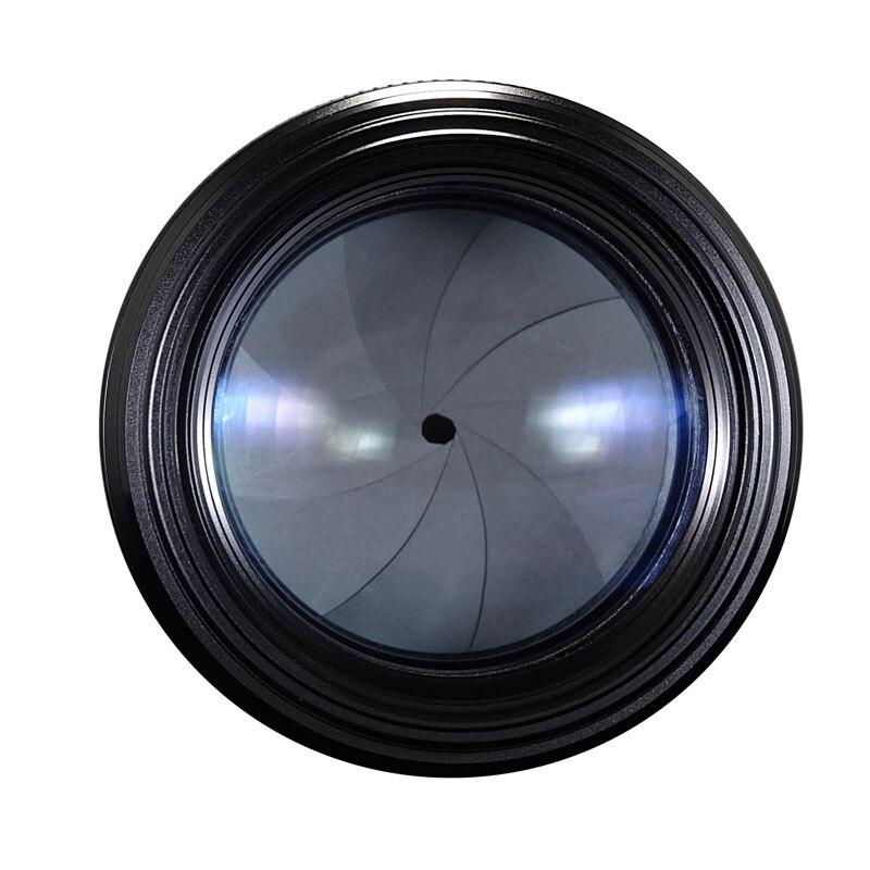 YONGNUO YN100mm 100mm F2N focale fixe pour objectif de caméra Nikon, prise en charge AF/MF objectif de téléobjectif moyen à grande ouverture Standard - 5