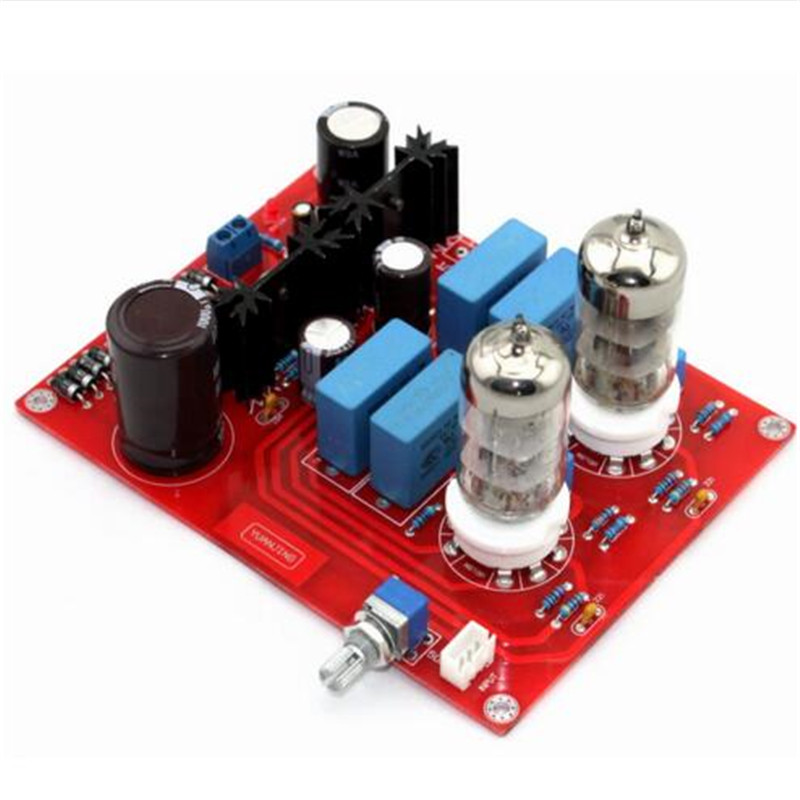 Refer to Mathis Circuit 6N3 <font><b>Tube</b></font> <font><b>Preamplifier</b></font> Board image