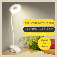 20PCS Led Dimmable Clip On Reading Light Clip Laptop Lamp for Book Bed Headboard Desk Eye care Switchable