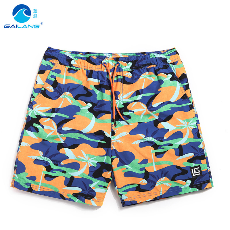 Men's bathing suit   board     shorts   hawaiian bermudas quick dry surfboard liner beach   shorts   joggers briefs printed mesh