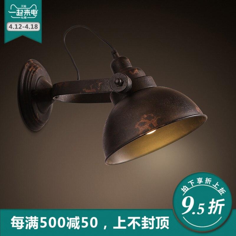 Edison Лофт Промышленные Винтаж подъема шкив Бра Античный Американский выдвижной шкив настенные лампы Scone для кафе клуб бар