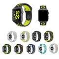 Спорт ремешок ремешок для apple watch NIKE 38 мм Силиконовый ремешок для часов браслет запястье женщины, Резиновые pulseira С корреа Адаптер 2016