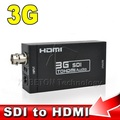 Mini 3G SDI to HDMI Converter Adapter HD BNC HD-SDI 3G-SDI HDMI Portable Multimedia Video Adapter with Power adapter EU US Plug
