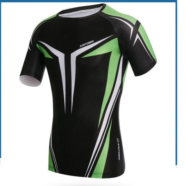 f0e48ed7c XINTOWN Men Bike Jerseys ropa ciclismo Cycling Jersey Jacket Skull Bike Top  Bicycle T-Shirts Outdoor Short Sports Wear