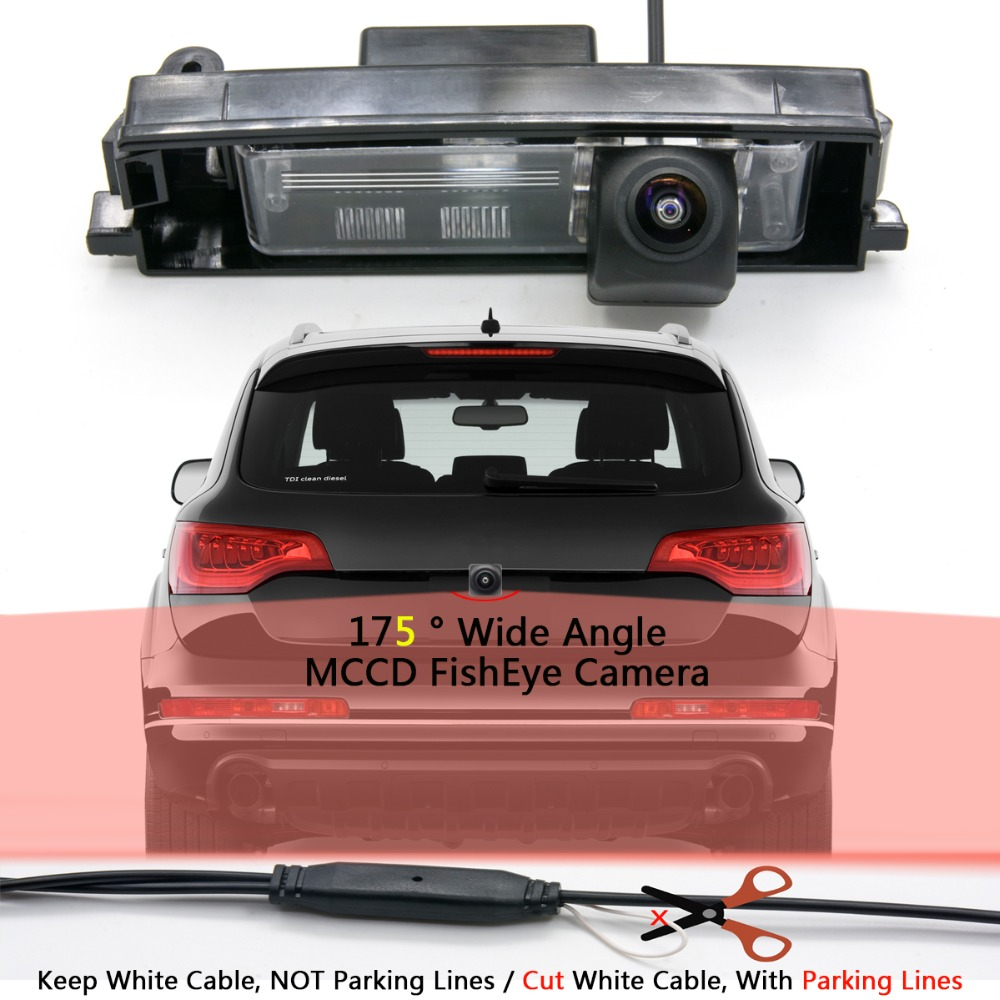 PAL HD 960*576 Pixels Parking Rear view Camera for Toyota RAV4 2000-2012 Car