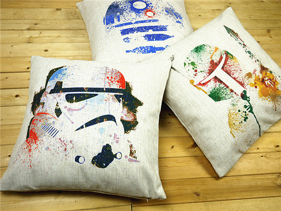 Star Wars pillow cover watercolor Black Warrior storm troops storm Commandos throw pillow case Wholesale-in Pillow Case from Home \u0026 Garden on ... & Star Wars pillow cover watercolor Black Warrior storm troops ... pillowsntoast.com