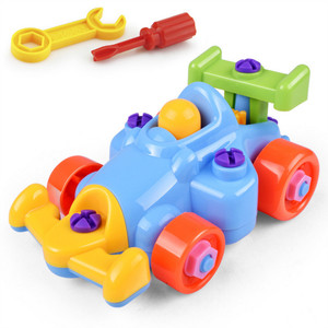Image 5 - 3D פאזל פירוק צעצוע Moto מסוק מטוסי רכבת DIY בורג אגוז קבוצת מותקן ילדים צעצועים לילדים מתנת יום הולדת