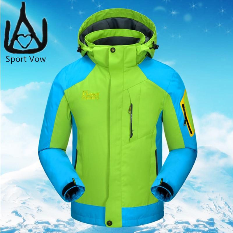 ФОТО 2016 Outdoor Jacket Camping Fishing Clothing Fleece Jacket Kids Climbing 3 In 1 Jacket Boys Waterproof Thermal Girls Snow Jacket