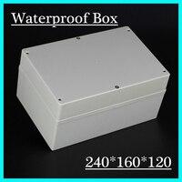 접합 상자 방수 상자 ip68 품질 플라스틱 방수 인클로저 240*160*120 미리메터