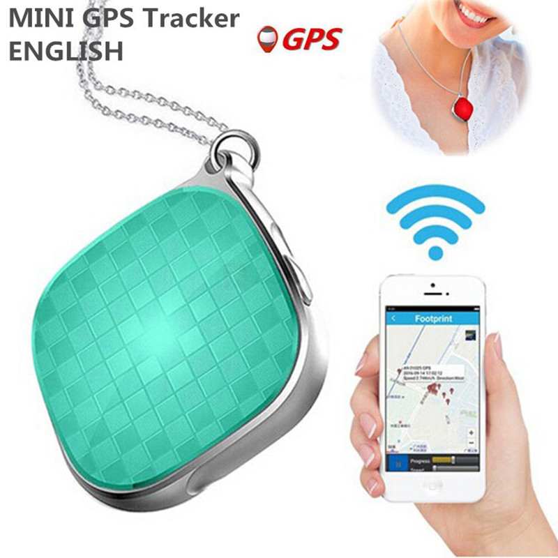 1 Portable MINI GPS Personal Trackers Safety SOS Alarm Global Locator Tracking Google Maps GSM GPRS Tracker for Kids Elderly Pets