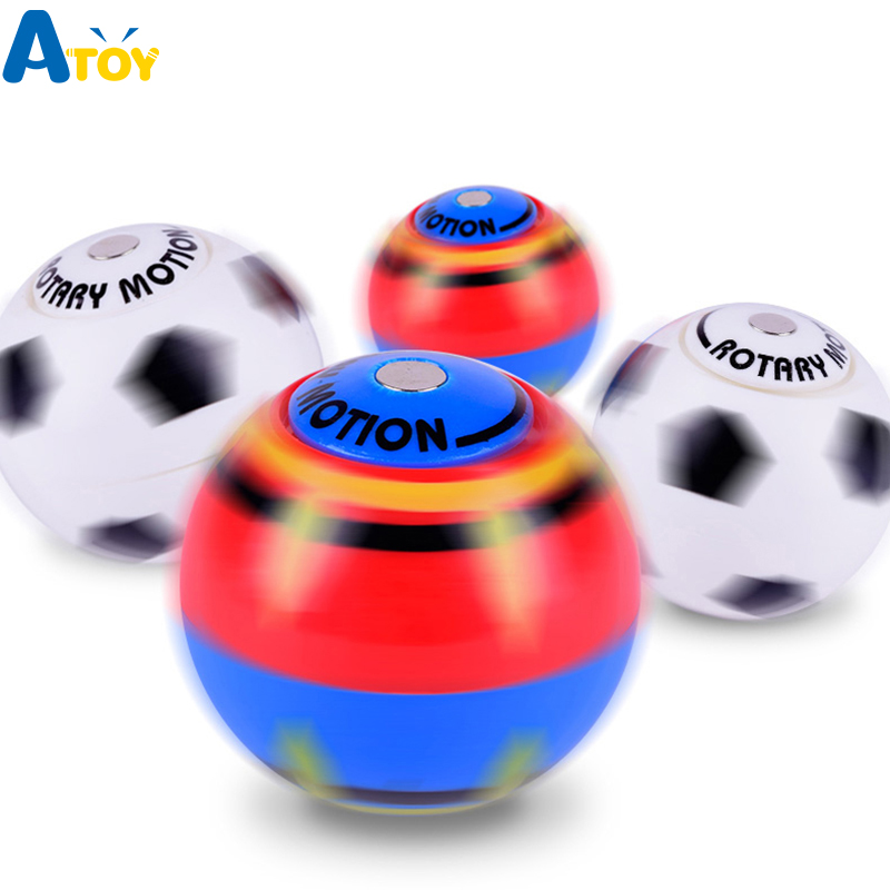 Hand Spinner Ring Gyro Toy Finger Ball Magnetic Hand Spinner Toy Fidget Spinner Decompression Desktop Kids Toys Stress Relief