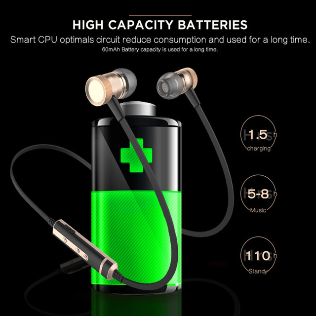Sound Intone H6 Bluetooth Earphones Sports Running Wireless Earbuds With Microphone Gym Headphones For iPhone Huawei Xiaomi Sony