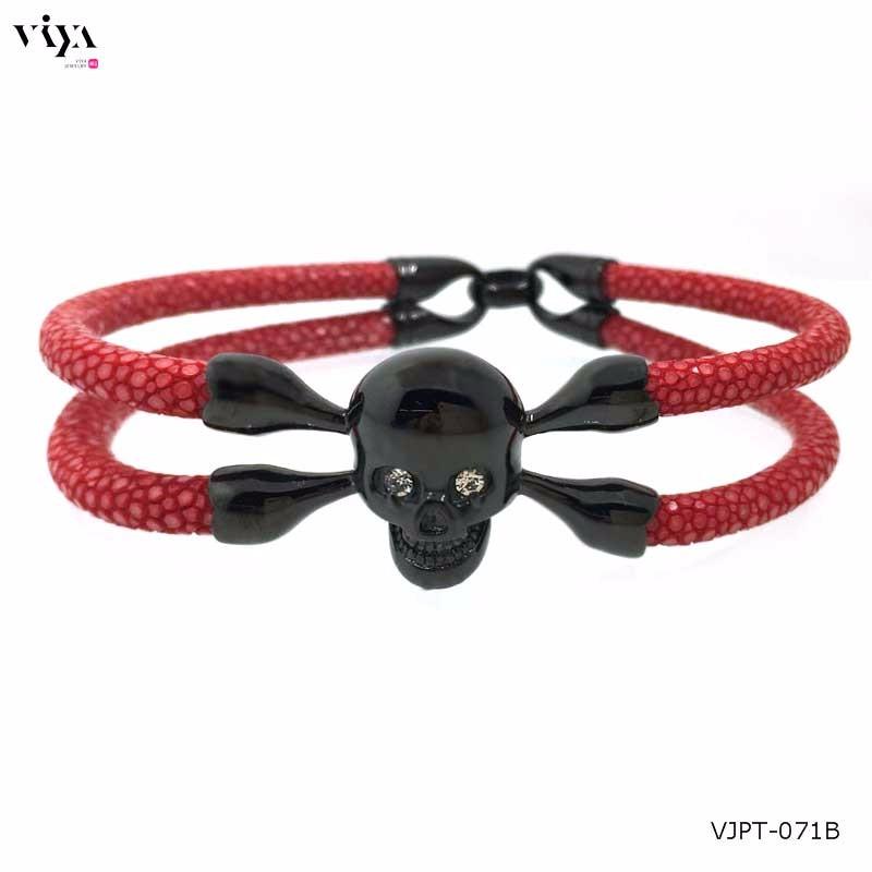 genuine-red-stingray-leather-+-black-skull-(1)
