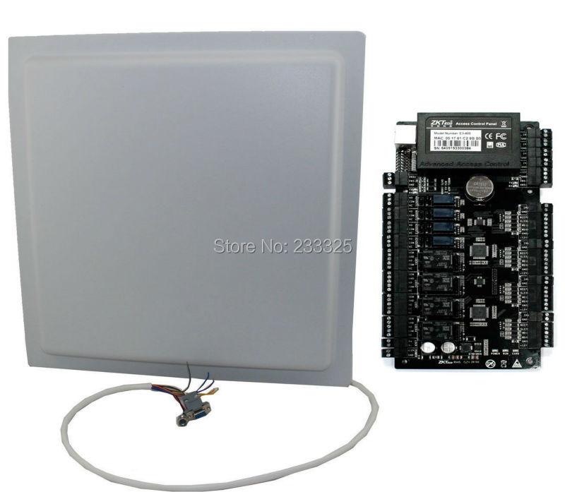 15M long range RFID UHF reader WG26 WG34 RS232 RS485 EPC GEN2 902 928MH 12dBi antenna