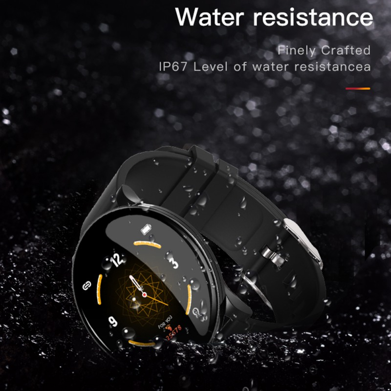 S9 Men Sport Pedometer Smart Watch IP68 Waterproof Fitness Tracker Heart Rate Monitor Women Clock Smartwatch(China)