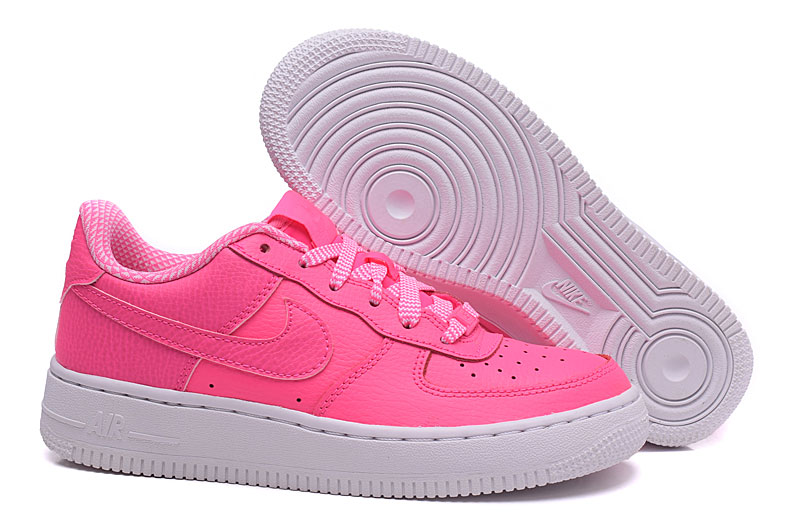 nike air force 1 rose fluo