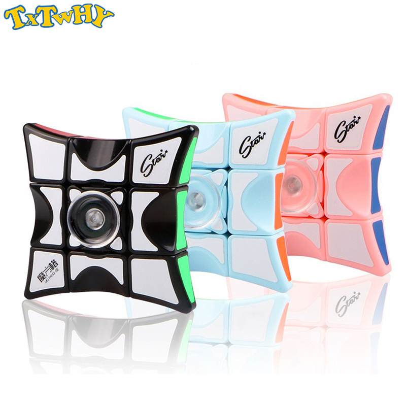 QIYI 133 Fingertip Cube Fingertip Gyro Cube Educational Toys 1x3x3 Puzzle Magic Cube Toys For Children Adult Gift in Magic Cubes from Toys Hobbies