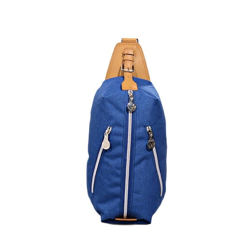 MACKAR Man Woman Crossbody Bag School Student Messenger Bag Pack Waterproof  Oxford Chest Bags Fashion Bolsas 3bc1b14f1e8