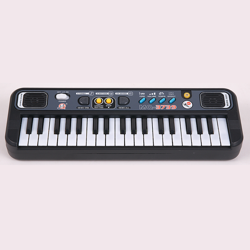 Piano Children Mini Electronic With Microphone Plastic Portable Christmas Gift
