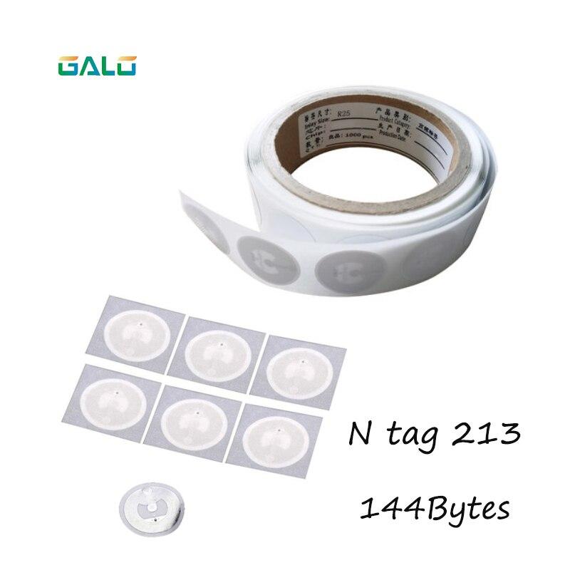 Ntag213 10 Pcs NFC TAG Etiqueta 13.56 MHz Etiquetas RFID NTAG 213 Universal Chave Token Tags Patrulha NXP MIFARE Ultralight