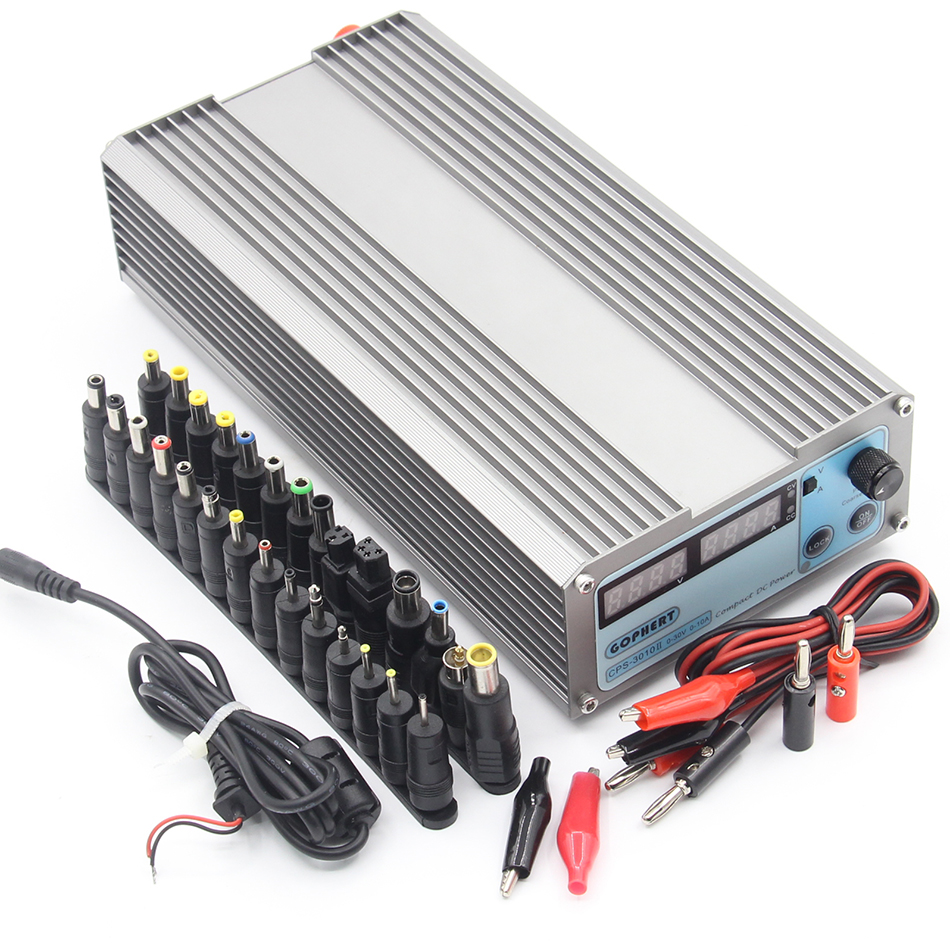 CPS-3010II 0-30V 0-10A low power Digital Adjustable DC Power Supply CPS3010 Switching power supply rps3020d 2 digital dc power adjustable power 30v 20a power supply linear power notebook maintenance
