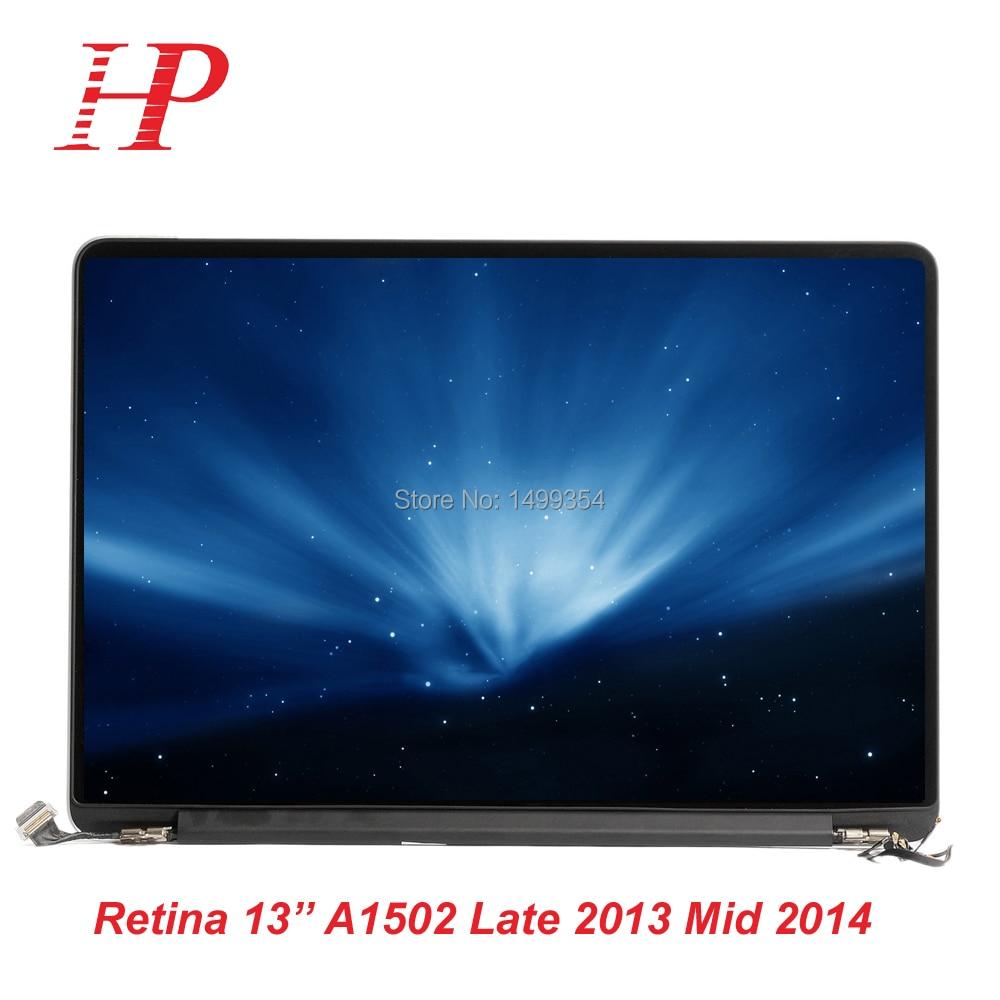 98% Nouveau Brillant A1502 écran LED LCD Écran Assemblage Pour Macbook Retina 13 ''A1502 Assemblée D'écran D'AFFICHAGE À CRISTAUX LIQUIDES Plus Tard 2013 Milieu 2014 Année